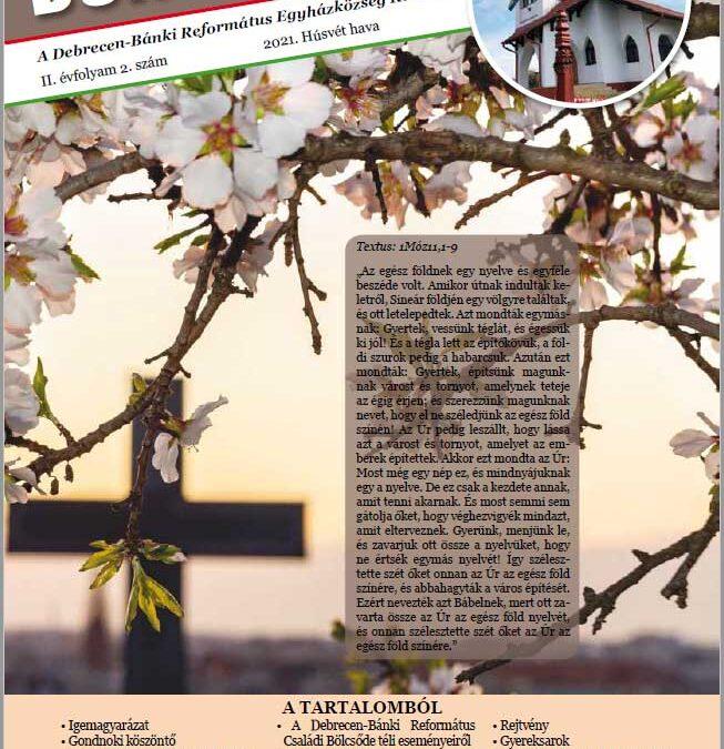 Megjelent a Békesség folyóirat 2021. húsvéti száma